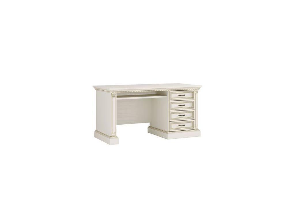 Liberty: Флоренция: стол письменный  (белый, золото)