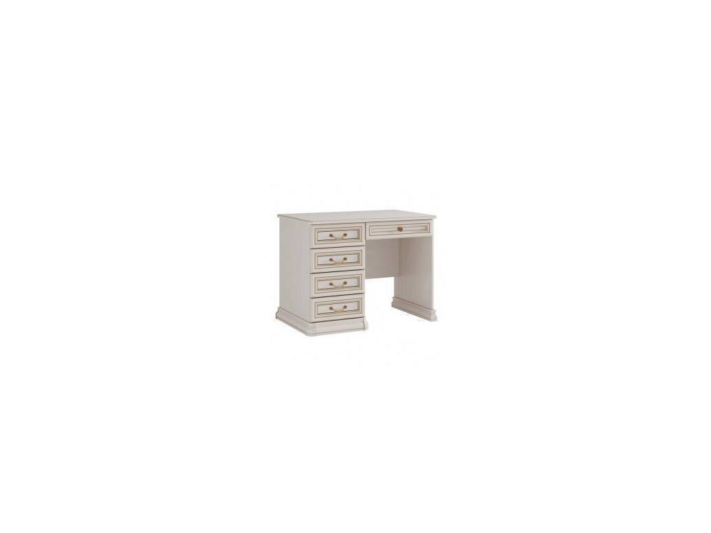 Liberty: Сильвия: стол письменный  (белый ясень, золотая патина)