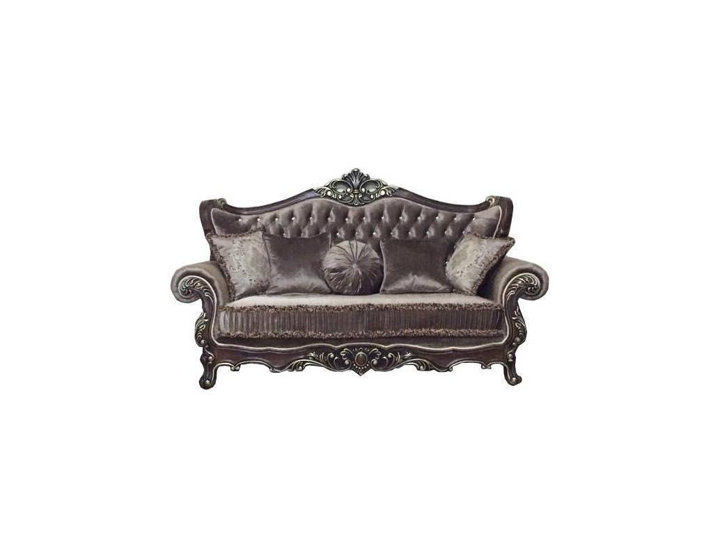 Beloni: Феллини: диван 3-х местный раскладной (темная патина)