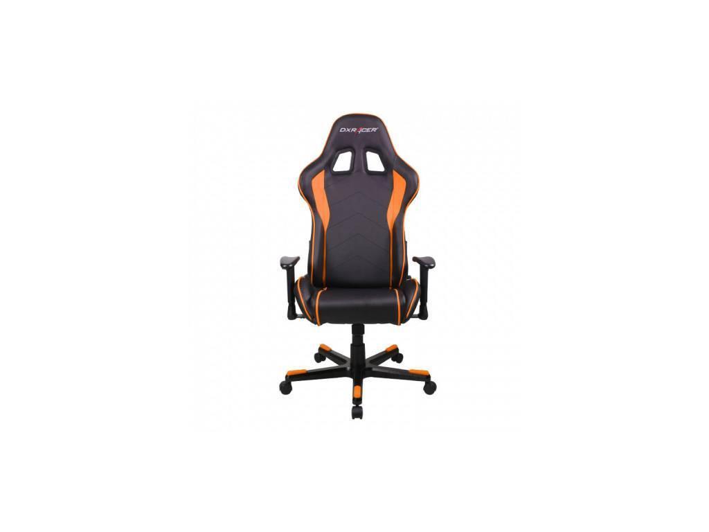 DXRacer: Formula: кресло компьютерное  (черный, оранж)