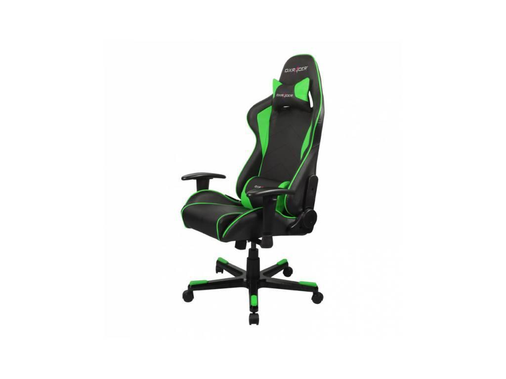 DXRacer: Formula: кресло компьютерное  (черный, зеленый)