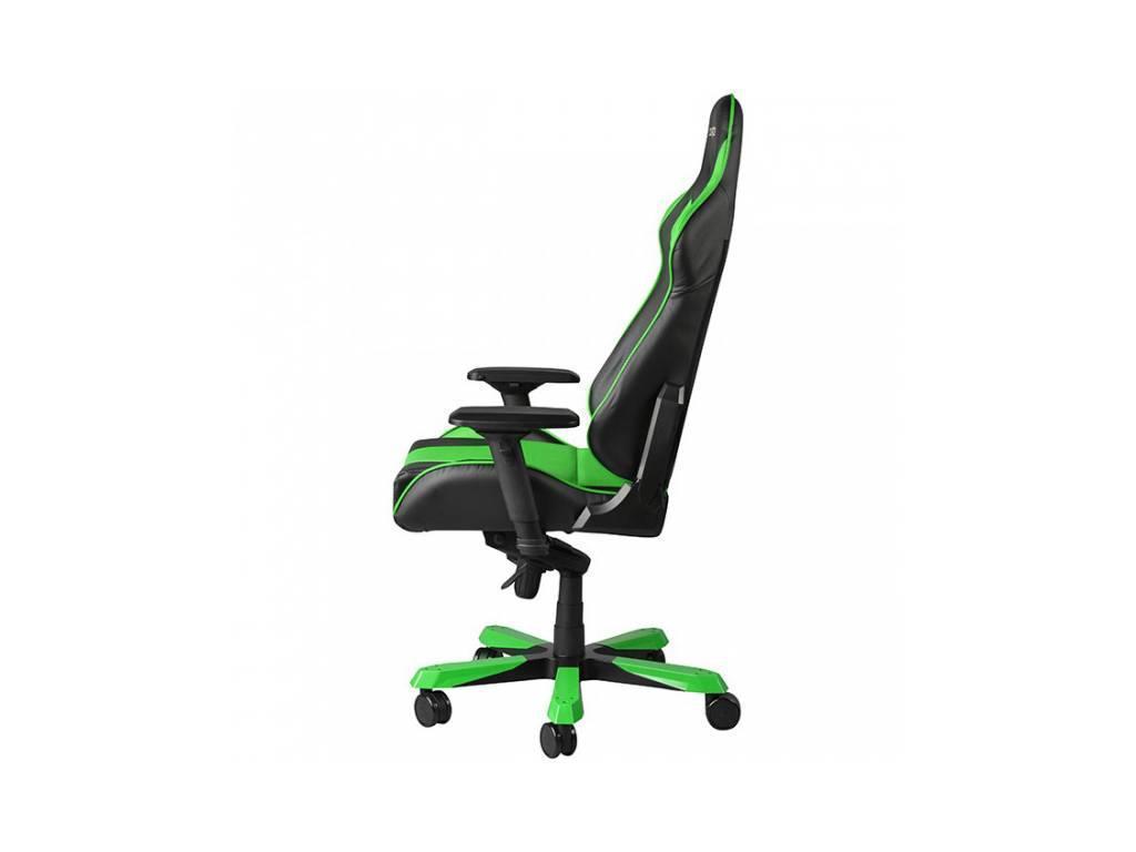 DXRacer: King: кресло компьютерное  (черный, зеленый)