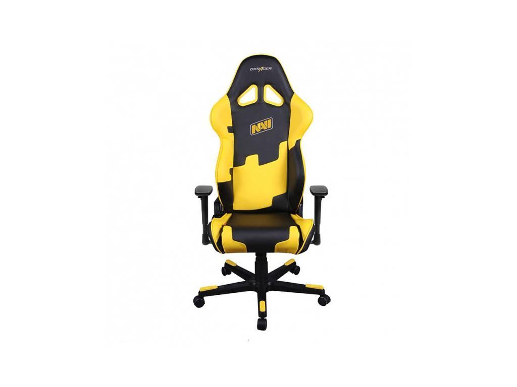 DXRacer: Racing: кресло компьютерное  (черный, желтый)