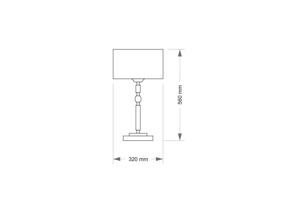 Kutek: Fagiano: лампа  (никель)