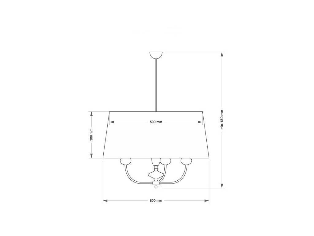 Kutek: Narni: люстра потолочная  (черная эмаль, полированная латунь)