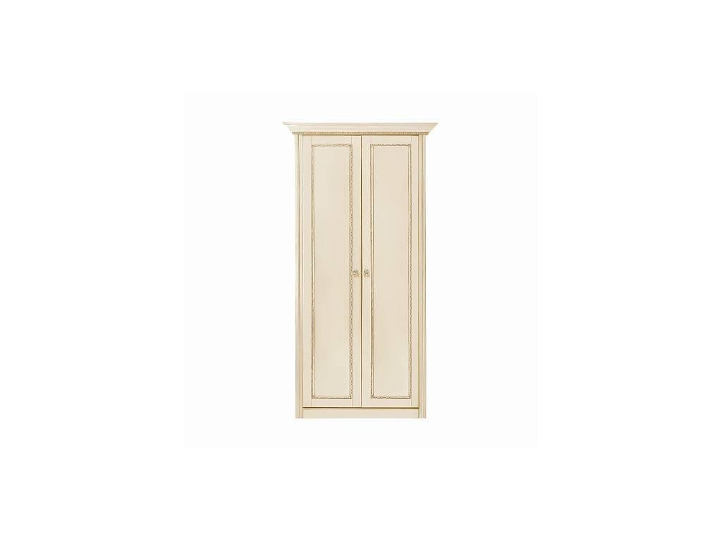 Liberty: Палермо: шкаф 2-х дверный  (ваниль, золото)