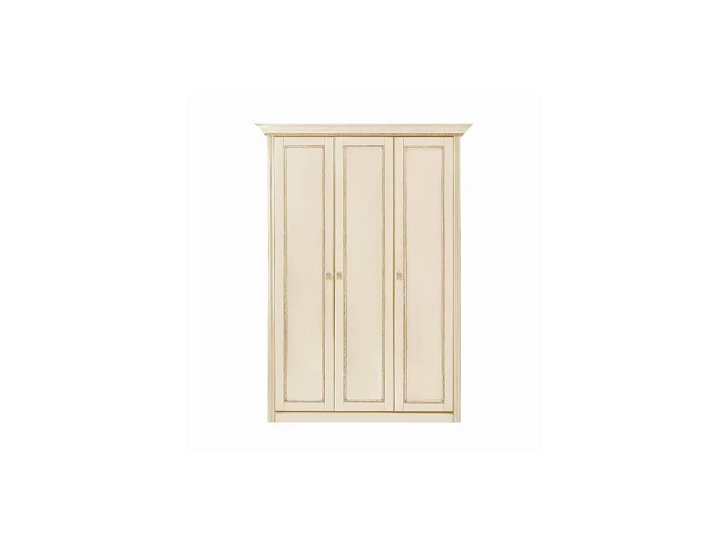 Liberty: Палермо: шкаф 3-х дверный  (ваниль, золото)
