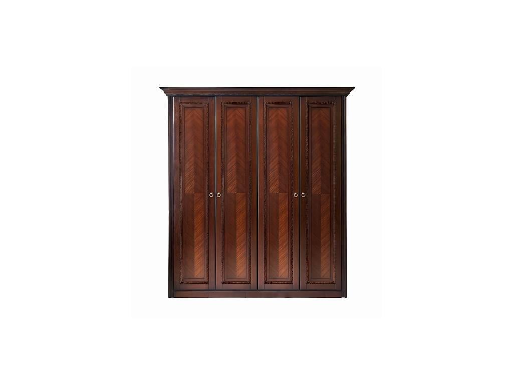 Liberty: Палермо: шкаф 4-х дверный  (вишня)