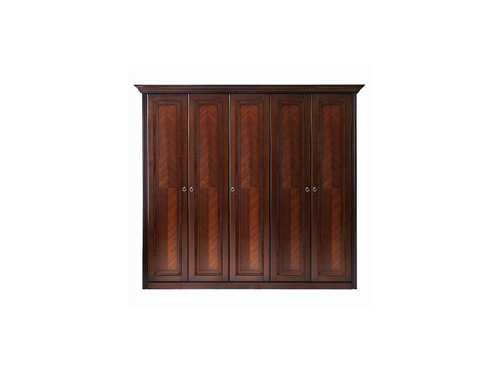 Liberty: Палермо: шкаф 5-ти дверный  (вишня)