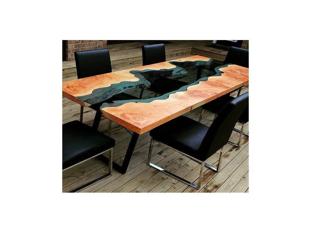 СКС: Река: стол обеденный (натуральное дерево)