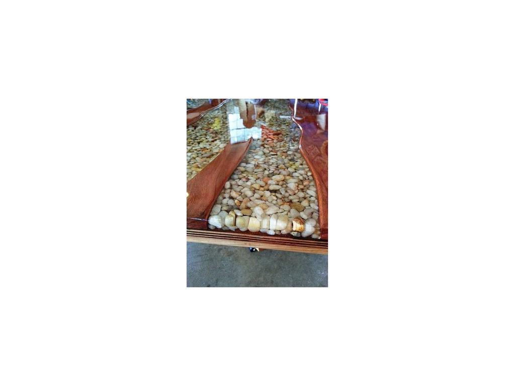 СКС: Ракушки: стол журнальный (натуральный)