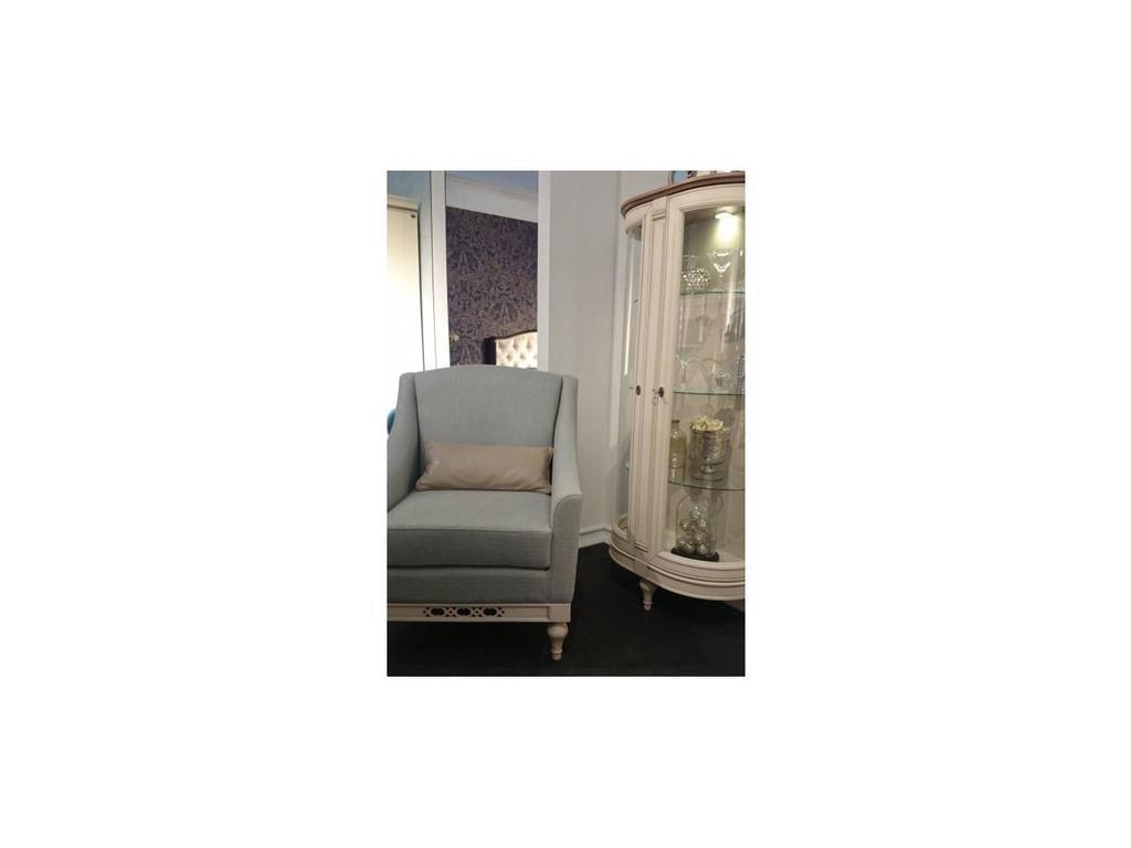 Taranko: Florencja: кресло  (ваниль, ткань)