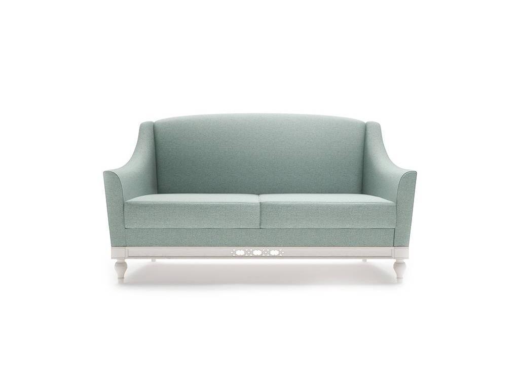 Taranko: Florencja: диван 2 местный  (ваниль, ткань)