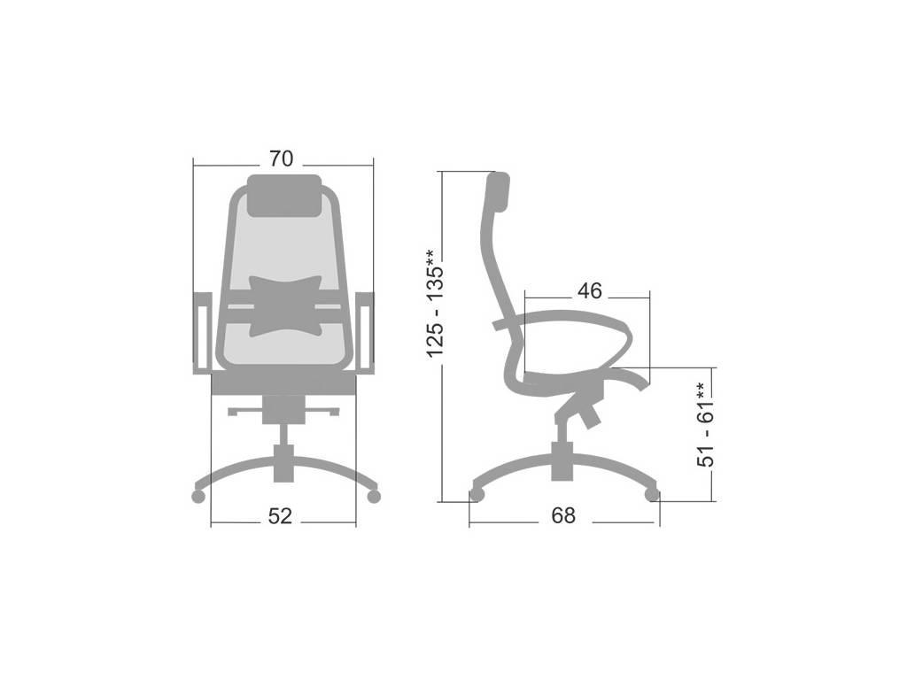 Consul: Samurai: кресло офисное  (бордовый)