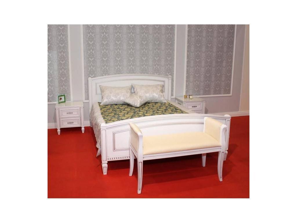 Юта: Юта: кровать 160х200  (белый)
