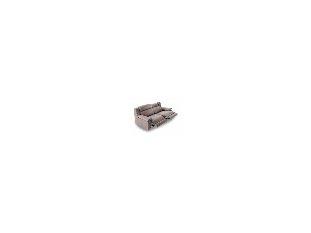 Acomodel: Blus: диван 3 местный с реклайнером (ткань)