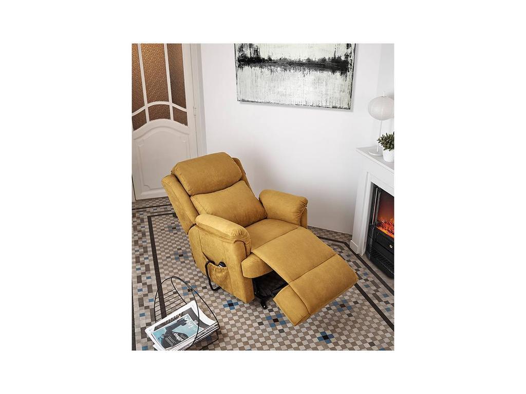 Acomodel: Lauro: кресло-реклайнер с подъемным механизом (ткань)