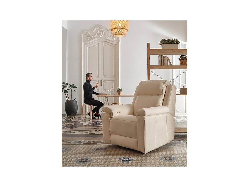 Acomodel: Blus: кресло-реклайнер (ткань)