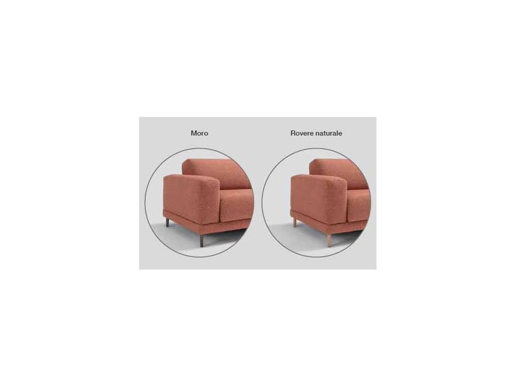 Dienne: Naxos: диван 3 местный раскладной (ткань)