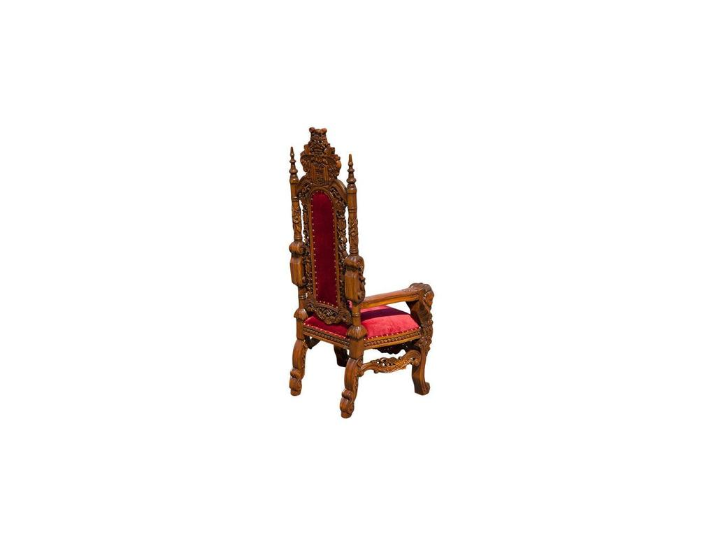 Jakarta: Трон Лев: кресло детское  (орех, ткань)