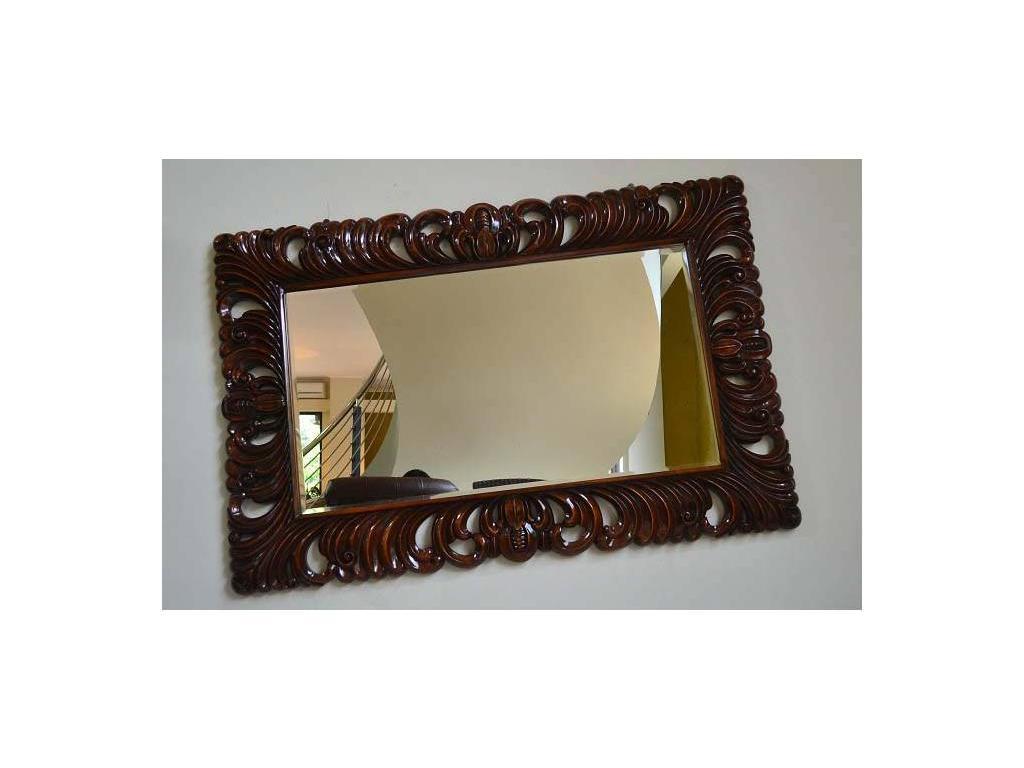 Jakarta: зеркало  прямоугольное (орех)