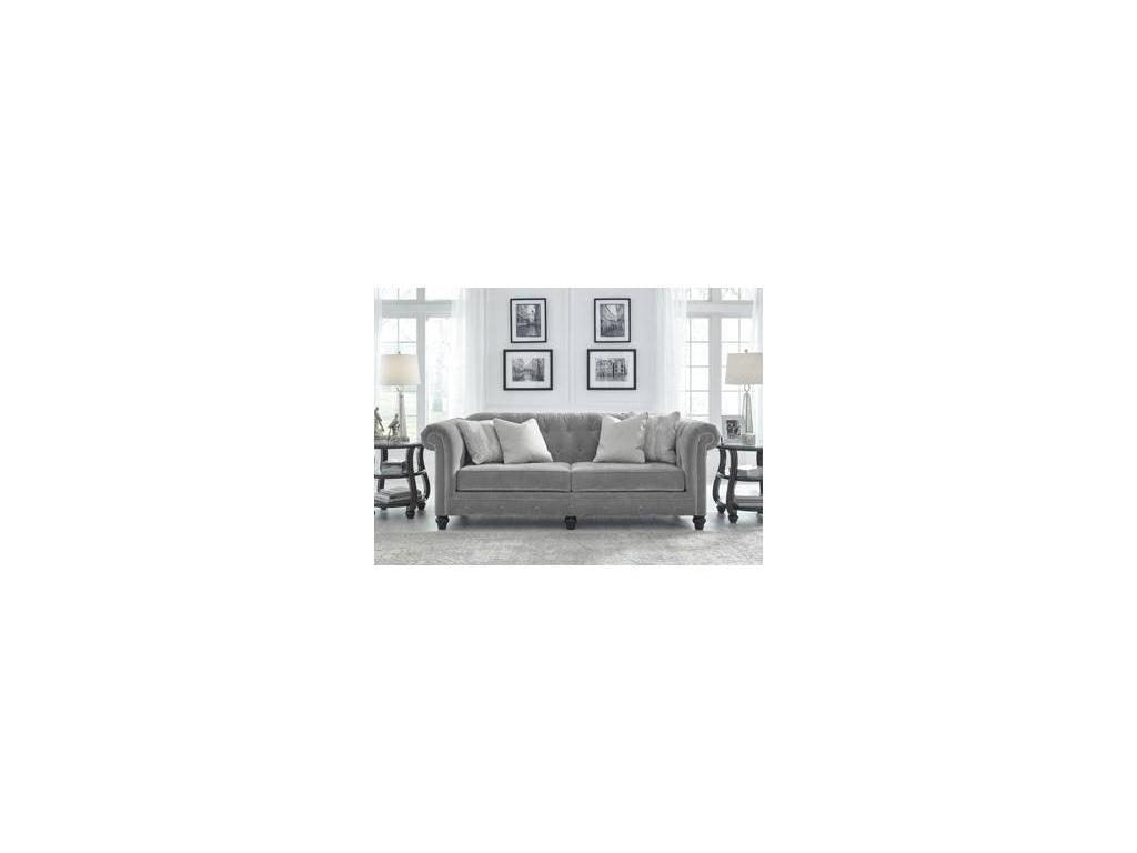 Ashley: Tiarella: диван 3 местный  (серый)
