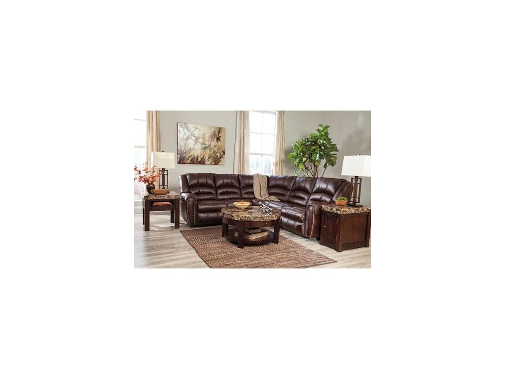 Ashley: Manzanola: диван угловой  (экокожа)