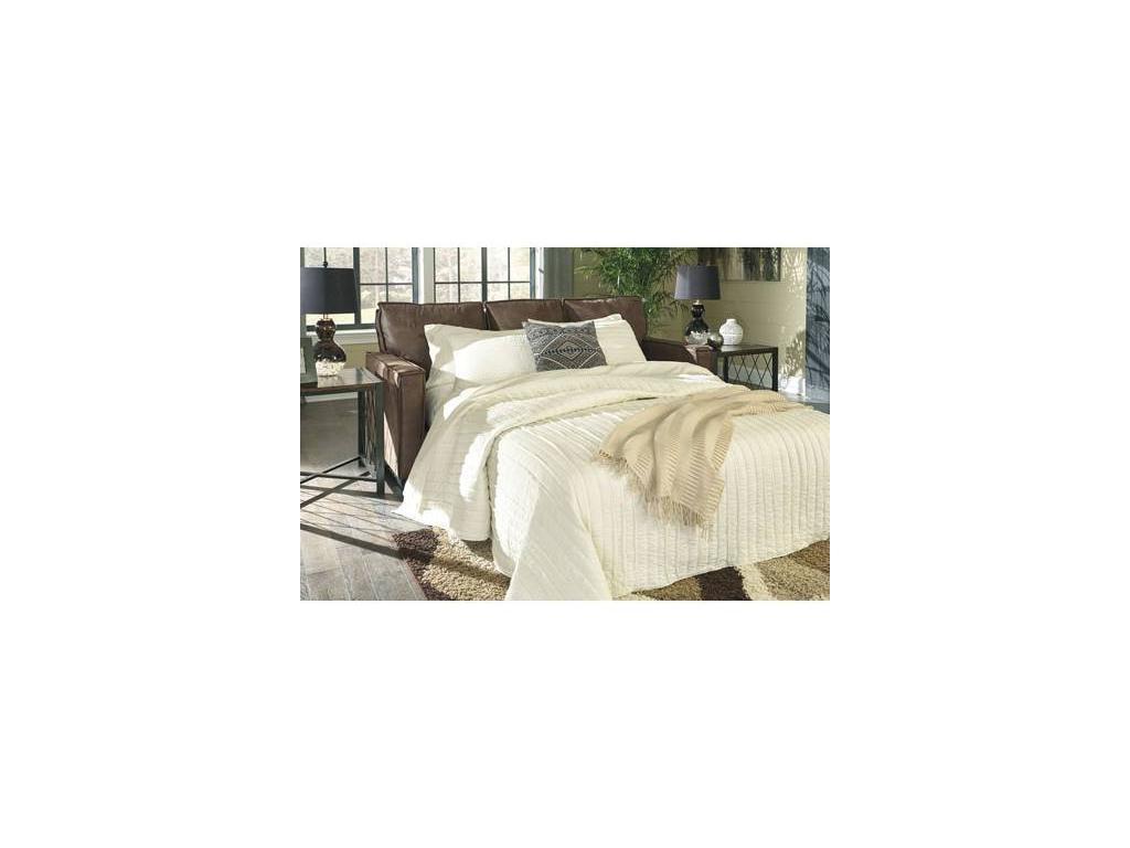 Ashley: Terrington: диван 3 местный  раскладной (коричневый)