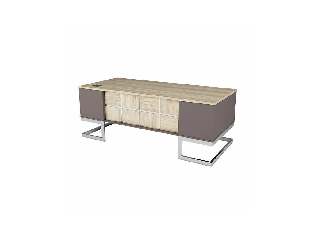 Zzibo Mobili: Brix: стол письменный (серебро)