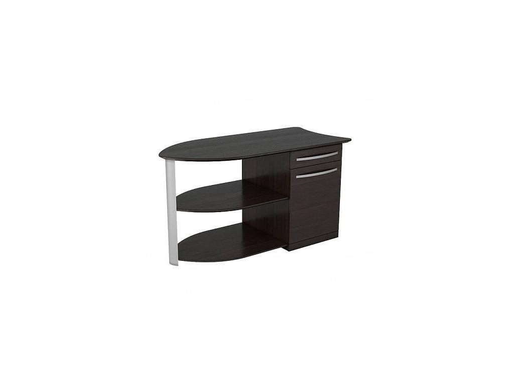 Zzibo Mobili: Mercury: столик приставной (дуб шоколадный)