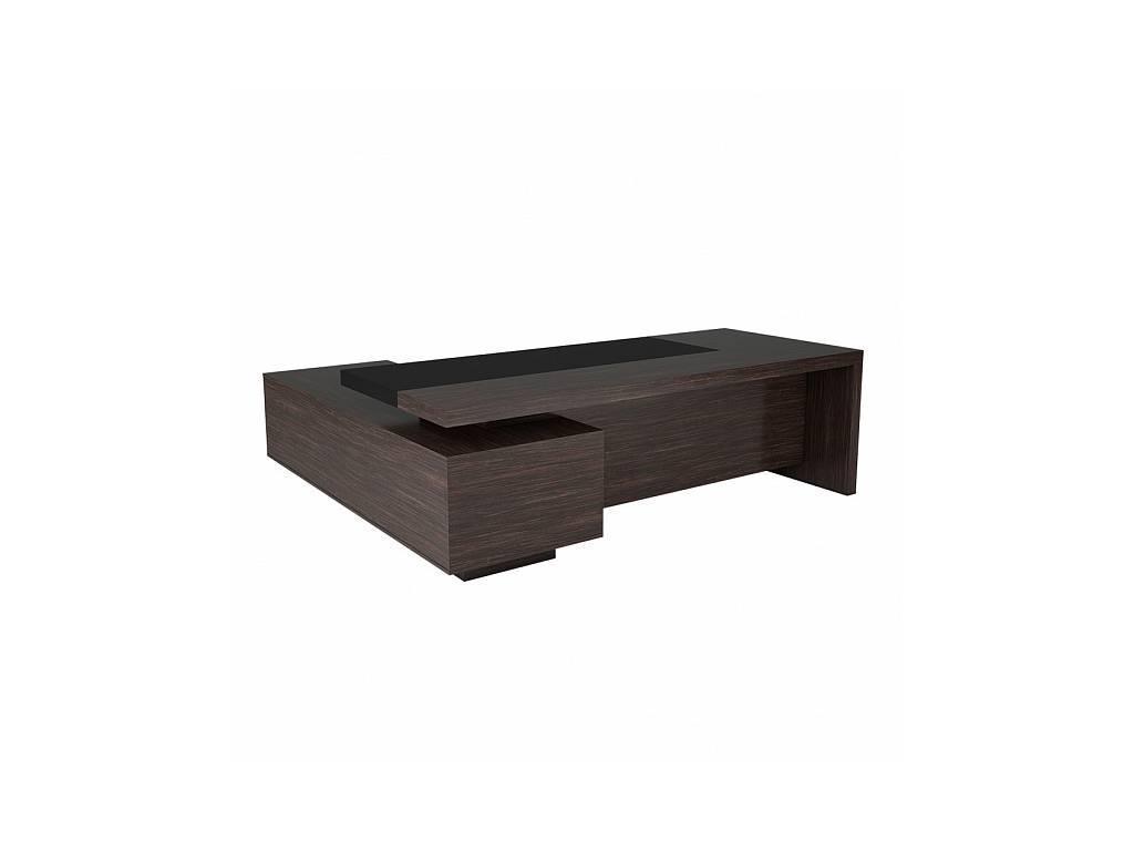 Zzibo Mobili: President: стол письменный (дуб шоколадный)