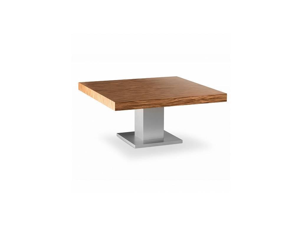 Zzibo Mobili: Tokyo: стол журнальный (белый глянец, матовый зебрано)