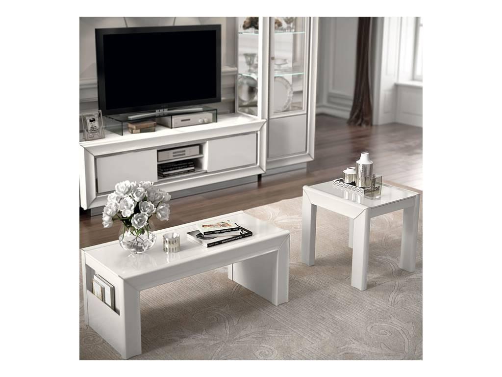 Camelgroup: Dama: стол кофейный (белый)