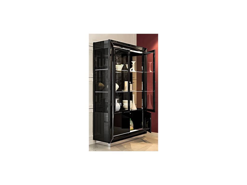 Camelgroup: La Star: витрина 2 дверная  (черный)