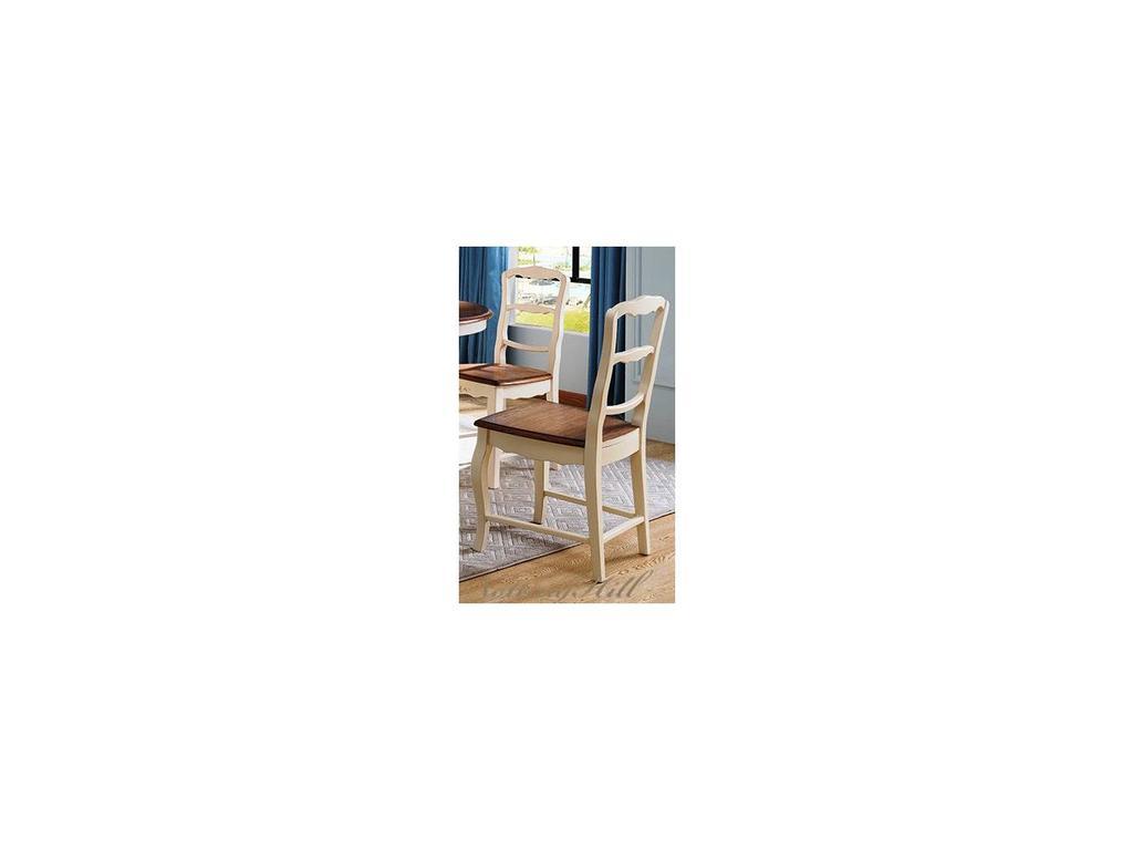 HFI: Florence: стул  (молочный, орех)