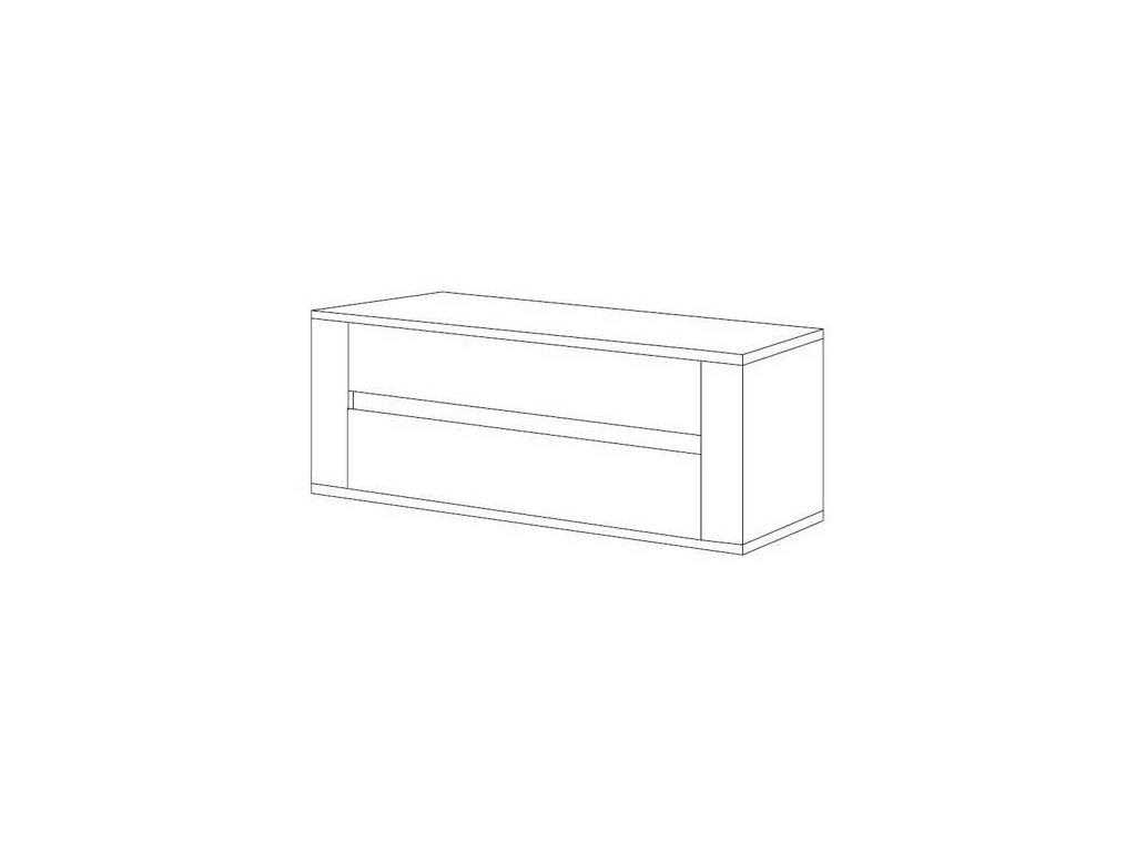 TuttoMobili: Lia: кассетница  (серый)