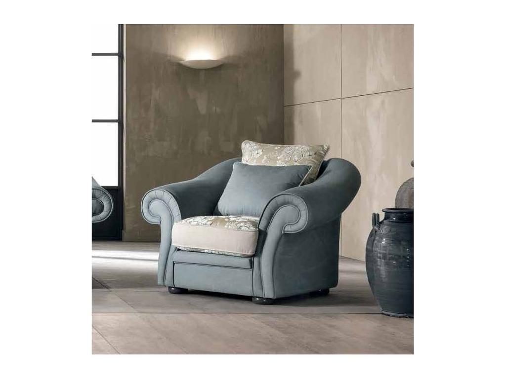 Cis Salotti: Boston: кресло (светло серый)