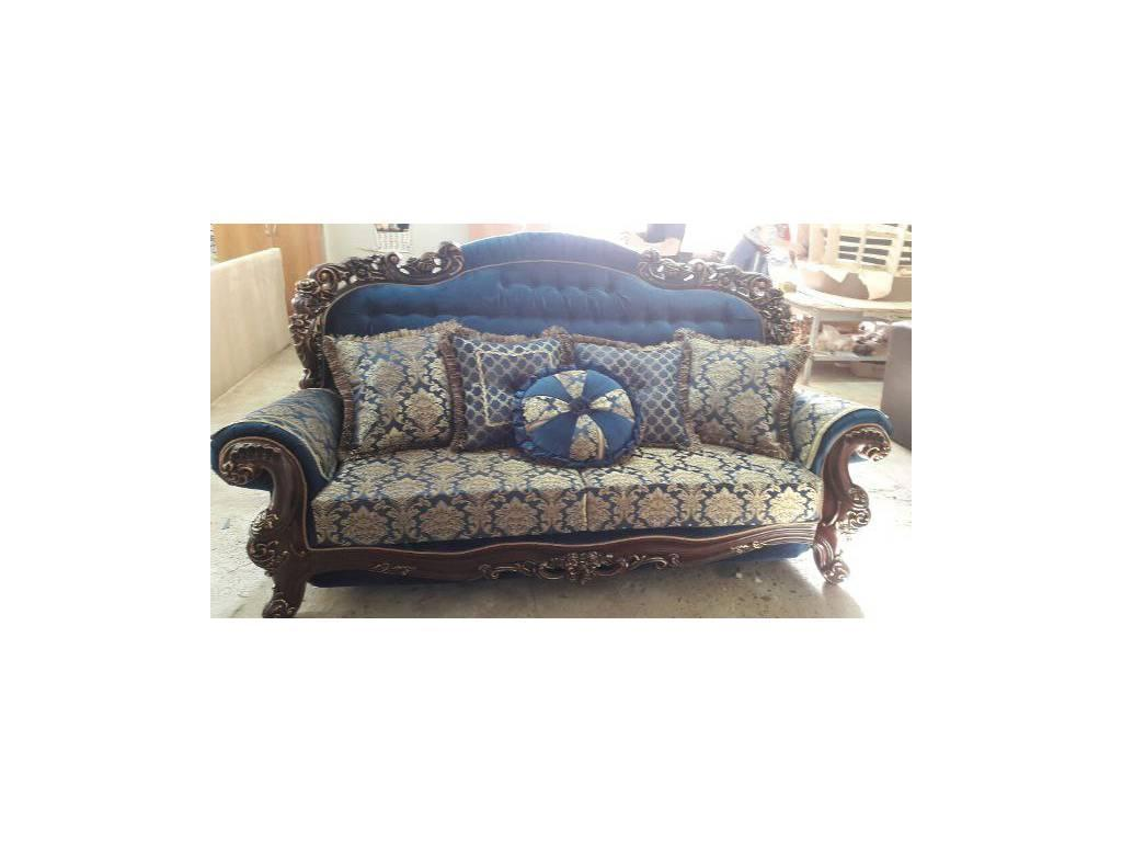 Ustie: Венеция: диван 3 местный раскладной Венеция 12 (орех)