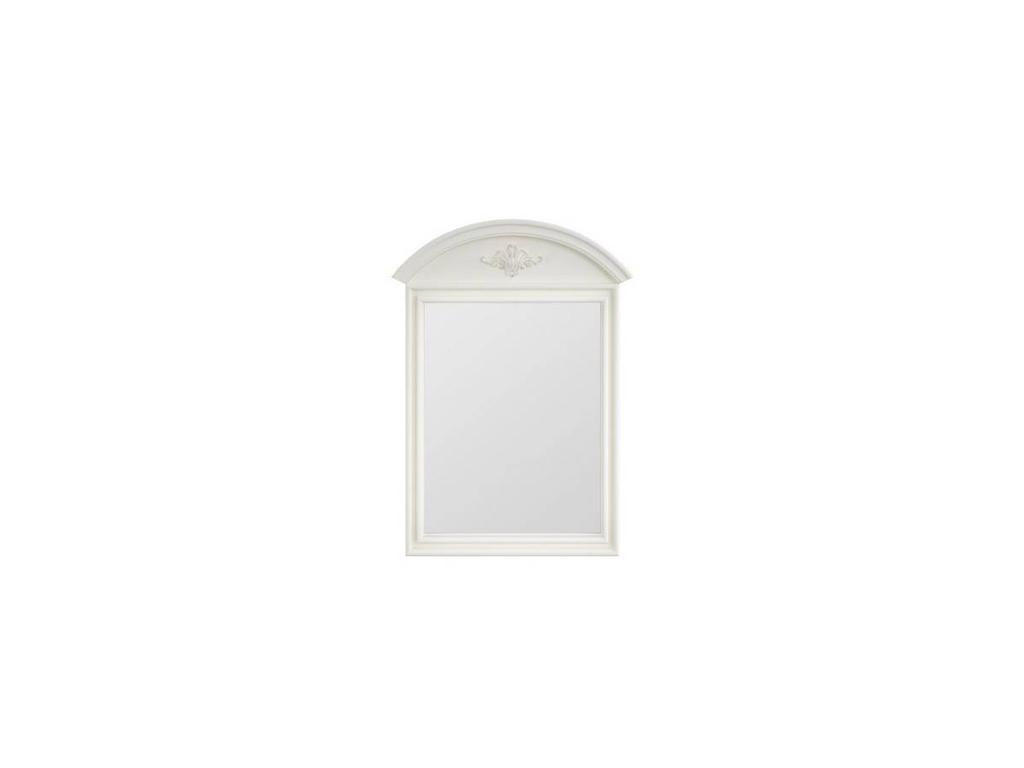 Франческа: зеркало настенное  (белый)