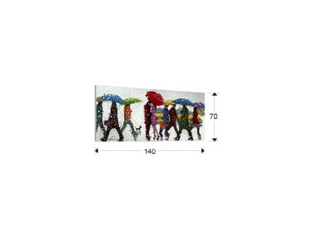 Schuller: картина Umbrellas акрил