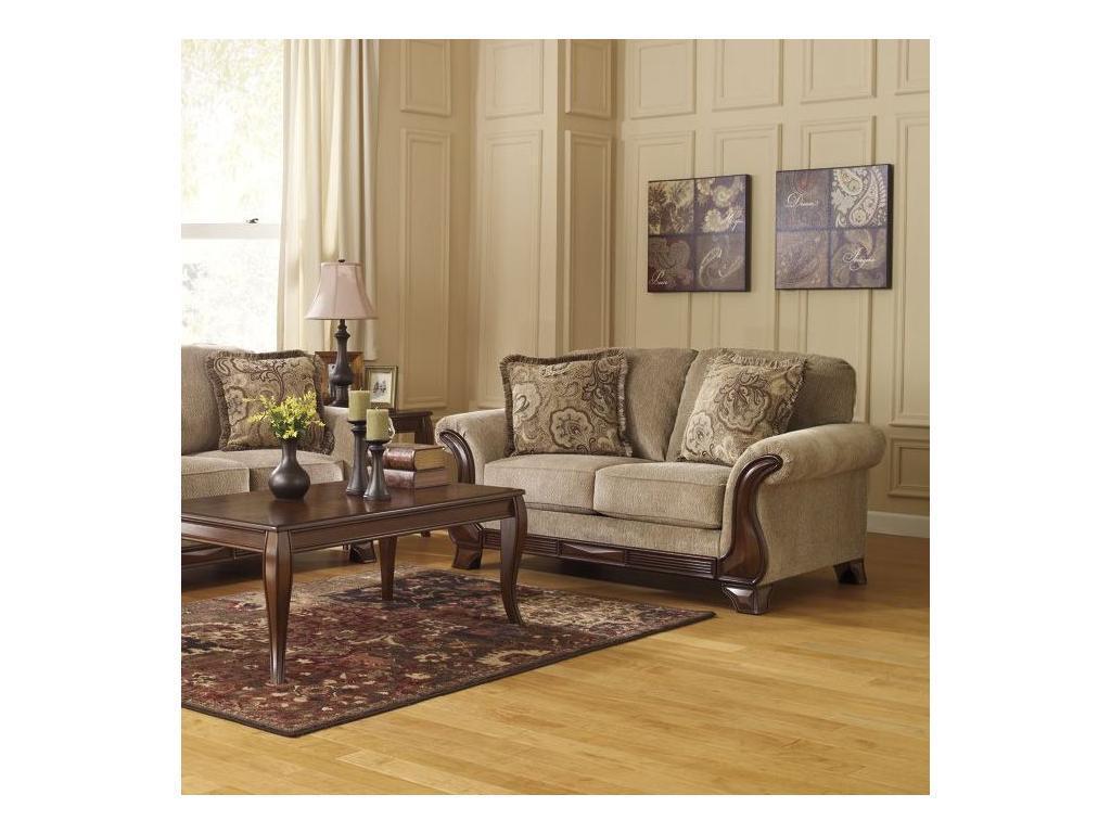 Ashley: Lanett: диван 2 местный  (бежевый)