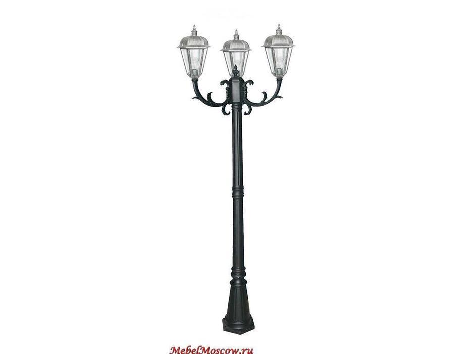 фонарь-столб SG240-3 (CS06 черный окисленный)