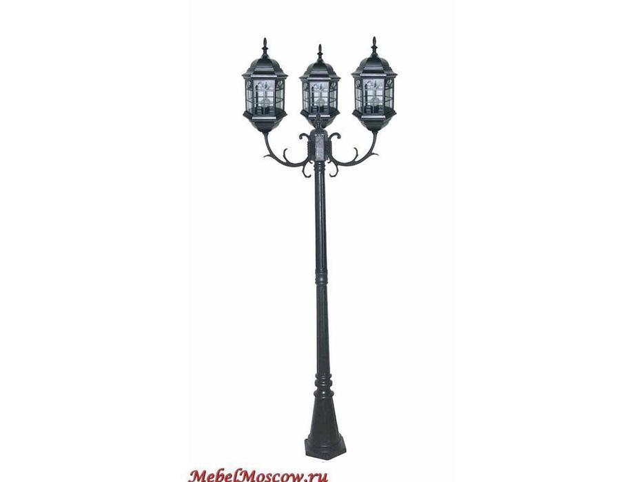 фонарь-столб SG200-3 (CS03 чернокоричневый)