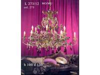 люстра 273/12 МО/MU L (богемия люкс,мурановское стекло)