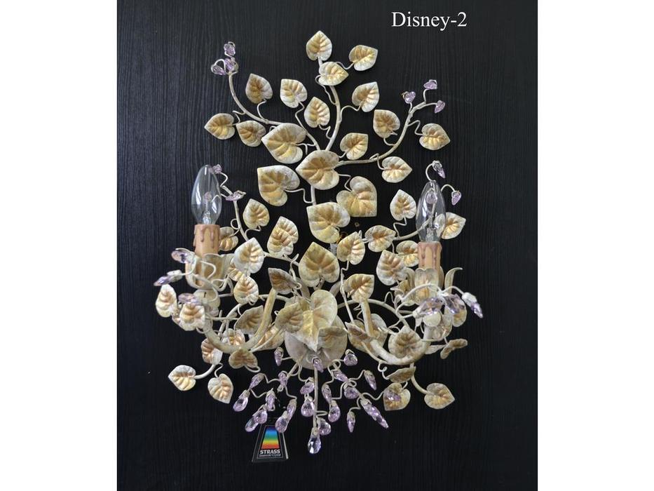 бра Disney/2 SW/R (сваровски розовый)
