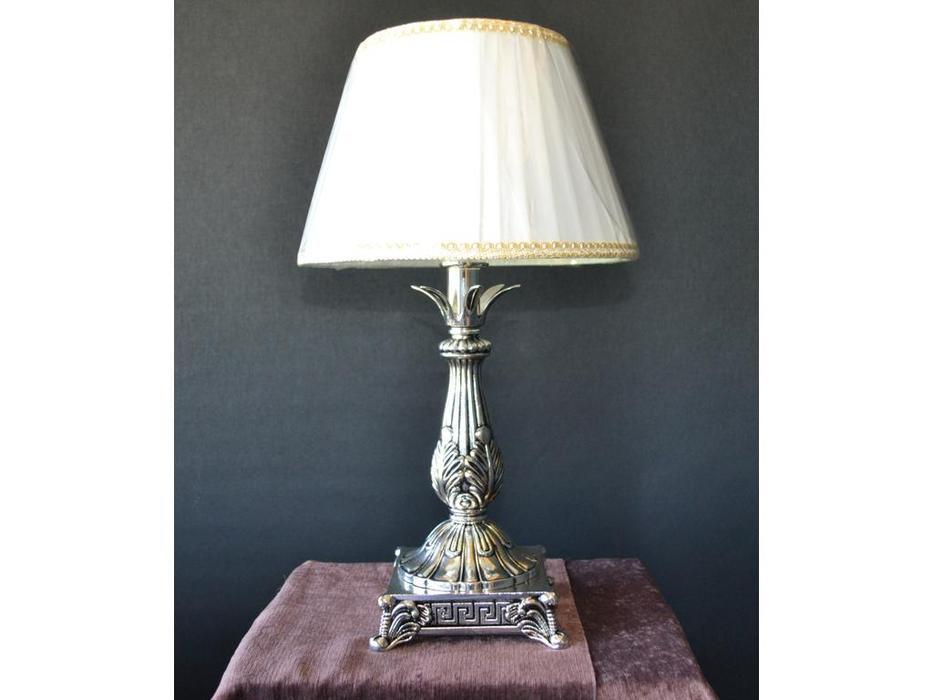 лампа настольная 022Т (черн.серебро)
