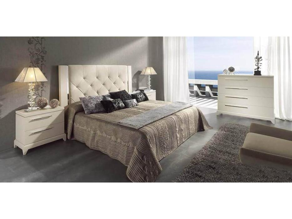 Lineas Taller: Oslo: кровать 150х200 №51  (венге) ткань