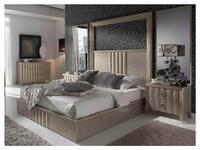 Lineas Taller: Viena: кровать 150х200 с подъемным механизмом  (беж)