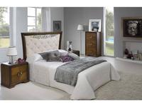 Lineas Taller: Keox: кровать 150х200  (nogal, ткань)