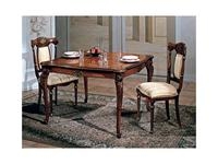 F.lli Pistolesi: Трезор: стол обеденный раскладной 120/(40+40)  (noce)